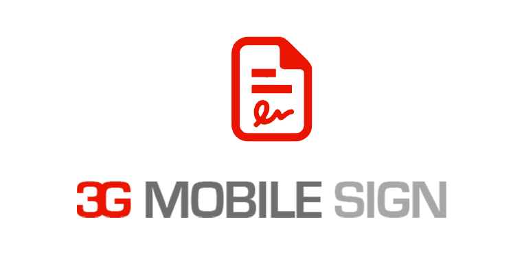 3G mobile sign_featurebox